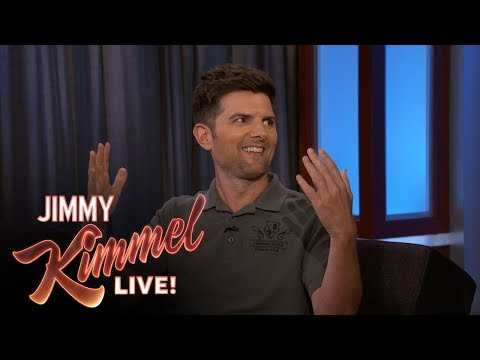 Adam Scott on Friendship with Idol Mark Hamill