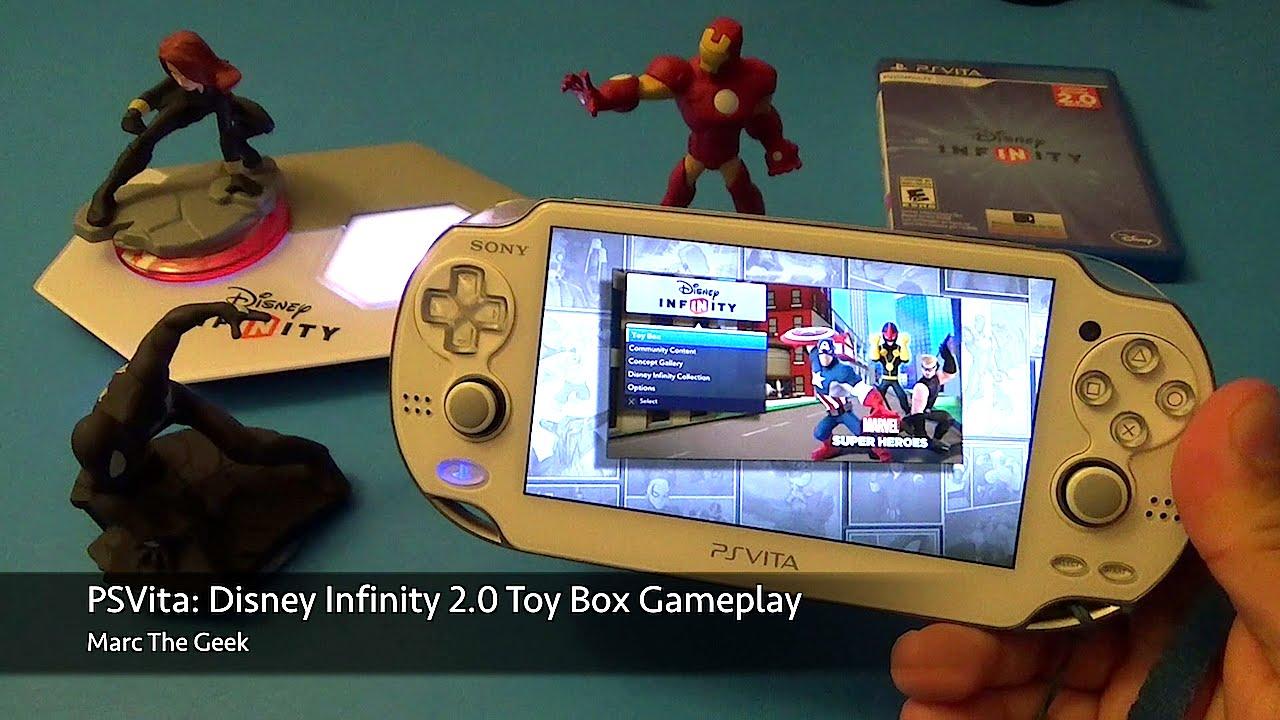 Psvita Disney Infinity 2 0 Toy Box Gameplay Youtube