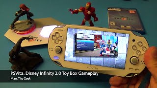 Psvita: Disney Infinity 2.0 - Toy Box Gameplay