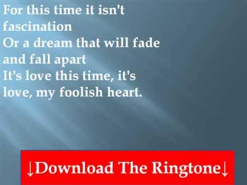 Rod Stewart - My Foolish Heart Lyrics