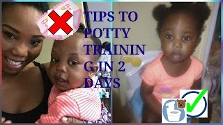 SIMPLE STEPS TO POTTY TRAINNING IN 2 DAYS