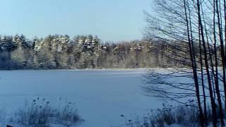 ''Зимова риболовля на озері Светлояр -20 Щука на балансир чорна смерть.3 серія.''
