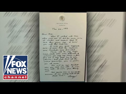 George H.W. Bush's letter to Bill Clinton goes viral