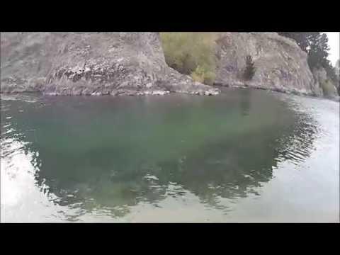 Salmon fishing Hurunui river 2014