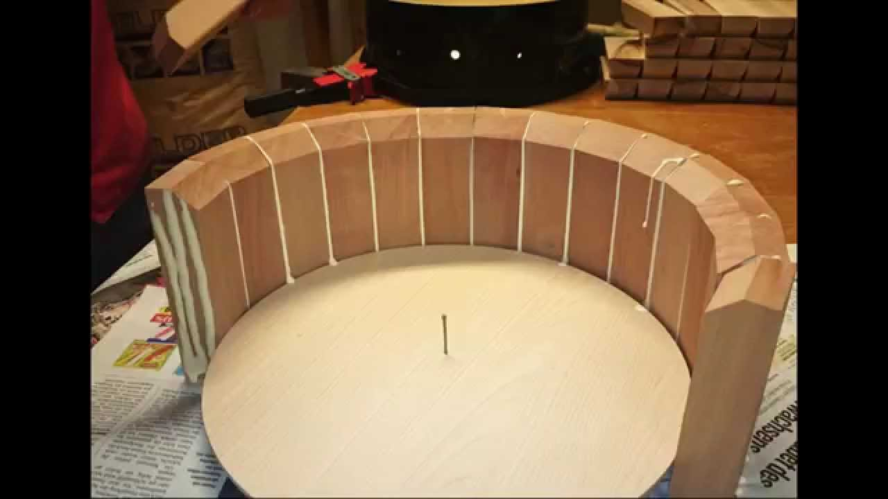 building a stave snare drum joko drums youtube. Black Bedroom Furniture Sets. Home Design Ideas