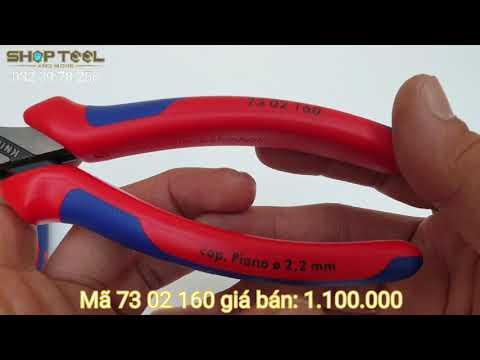 KNIPEX XCUT: PHẦN 5 KÌM CẮT 73 06 160 - 0823978258 SHOPTOOL.NET