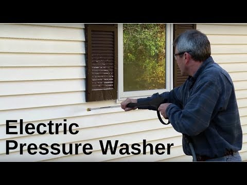 How To Start An Electric Pressure Washer (2018)