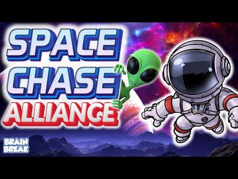 Space Chase: Alliance - Virtual Game // Brain Break |