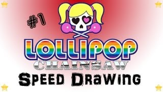 Speed Drawing - Marshall Arts #1 - Lollipop Chainsaw