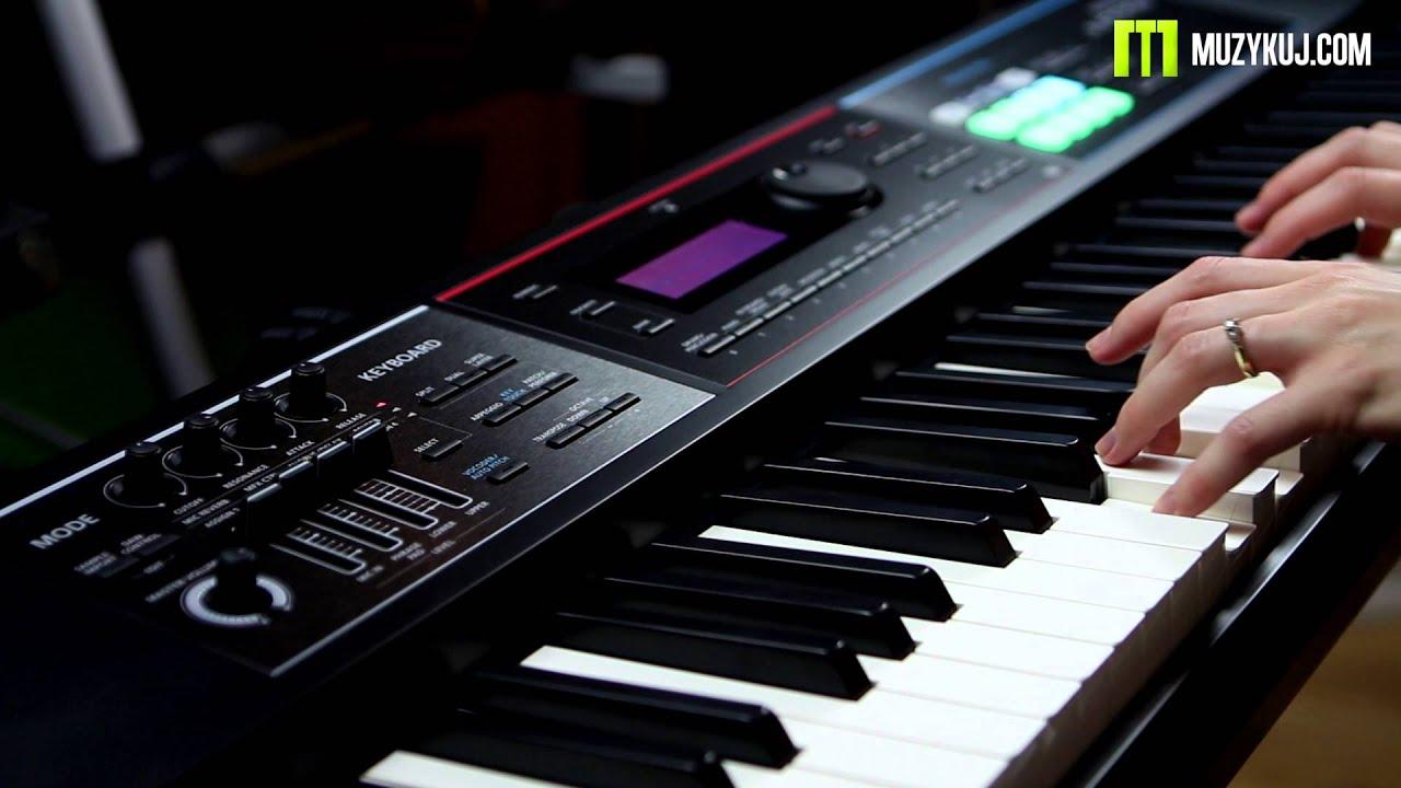 Roland Juno DS Classical Piano - YouTube