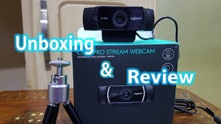 Logitech C922 -Best Streaming WEBCAM (Complete Review)