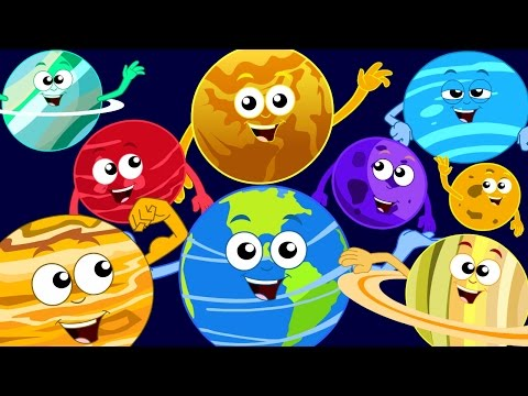 Planets Song Kids Songs Nursery Rhymes Rhymes For Children kids tv S03 EP71