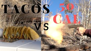 What happens when tacos get shot with a desert eagle?