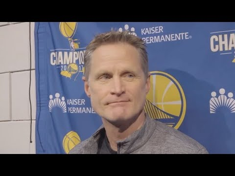 Steve Kerr: Vote People In Who Have The Courage To Protect People's Lives, Not 'Bow Down To The NRA'
