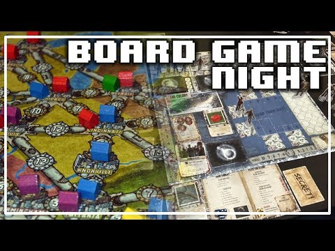 Boardgame Night: Power Grid & Dead Of Winter