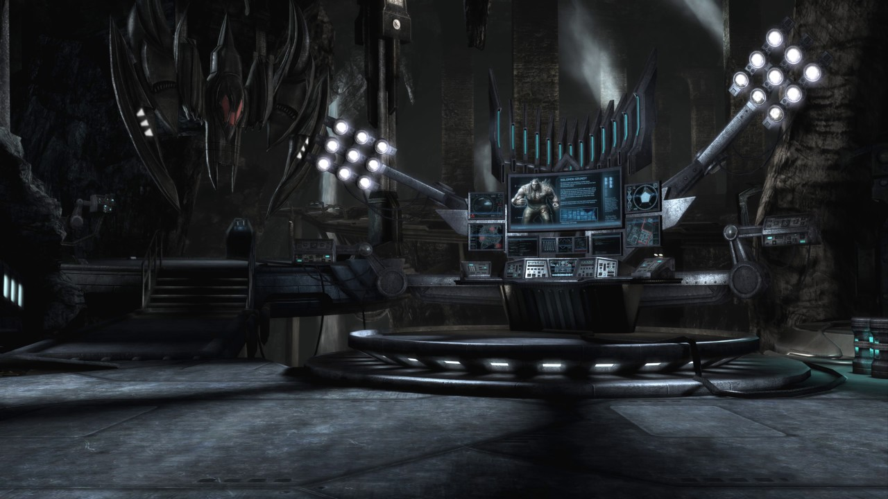 The Batcave Control Panel Injustice Gods Among Us Live Wallpaper