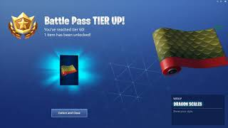 "Fortnite: Challenges/ nBKg unlocks the *NEW* ""Dragon Scales"" wrap 
