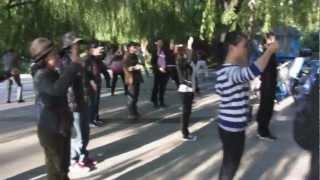 つちのいえメンバー、内モンゴルの呼和浩特(フフホト)・満都海公園で中...