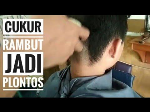 Proses cara cukur rambut botak sampai habis - YouTube 384c1fa811