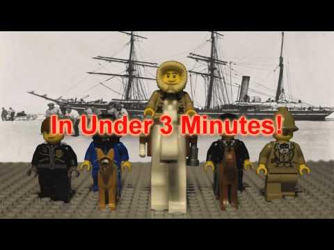 Captain Scott's Journey To Antarctica In LEGO HD!
