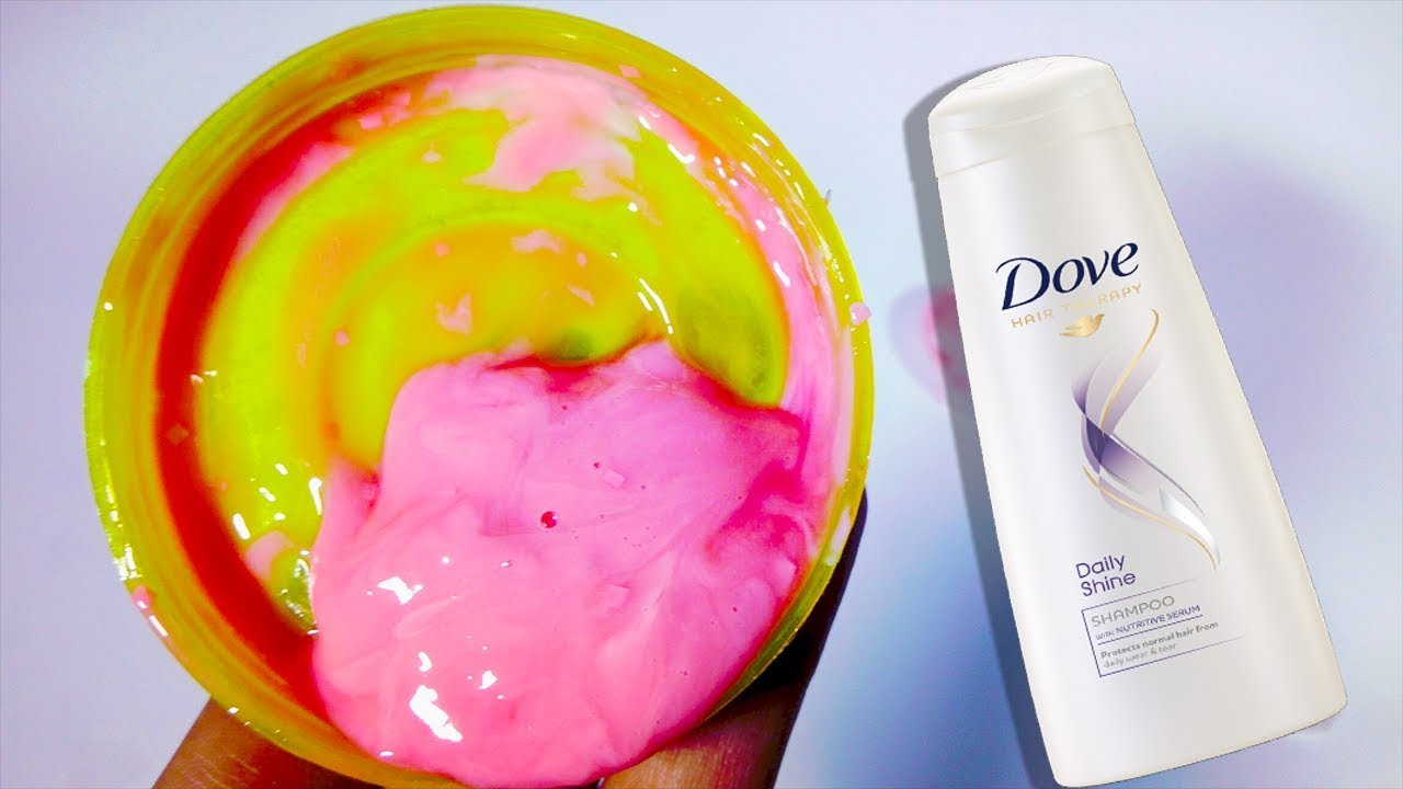 NO GLUE - How to make Slime with Shampoo and Toothpaste ...