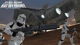 Star Wars Battlefront 2 Mod | Clone Wars