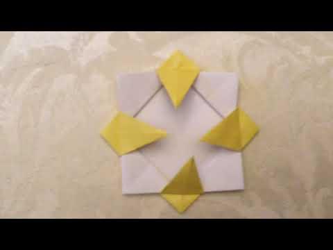 Teens Teach How To Make An Origami Sunflower By Karen L Youtube