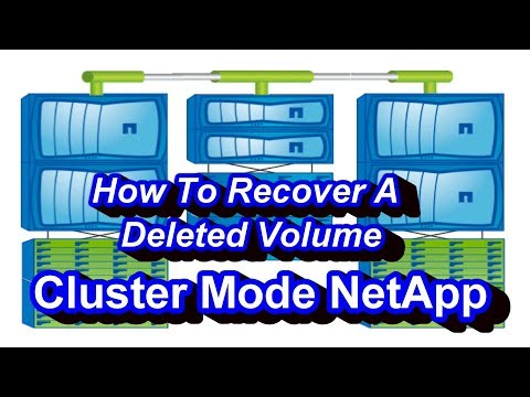 How To Recover Deleted Volume In Netapp Cluster Mode