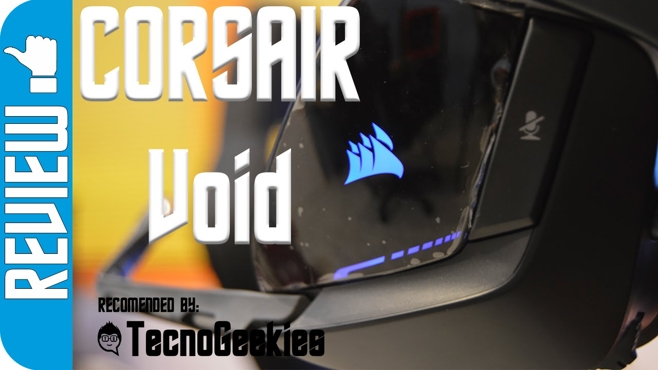 Unboxing Y An 225 Lisis Cascos Gaming Corsair Void 7 1 Youtube