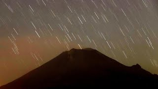 Popocatepetl schleudert glühende Asche 2,5 km weit
