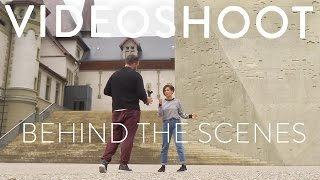 Shooting a dance video // Behind the scenes //