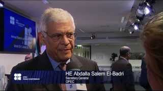 HE Abdalla S. El-Badri, OPEC Secretary General
