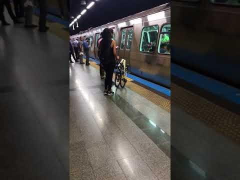 SOHO Bisiklet EWS metroda