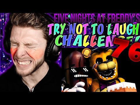 Vapor Reacts #1002 | [FNAF SFM] FIVE NIGHTS AT FREDDY'S TRY NOT TO LAUGH CHALLENGE REACTION #76