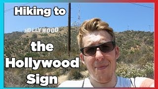 Hiking up the Hollywood Sign | Evan Edinger Travel