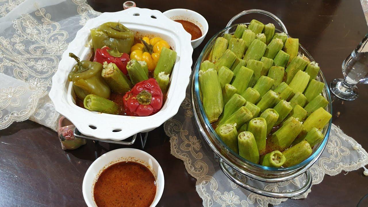 طبخ المحاشي على طريقة البوفيهات