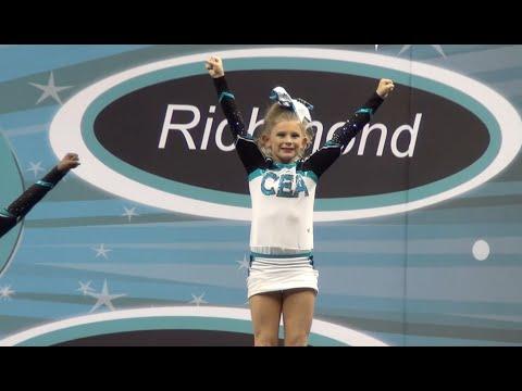 Cheer Extreme Golden Girls Richmond Showcase 2015
