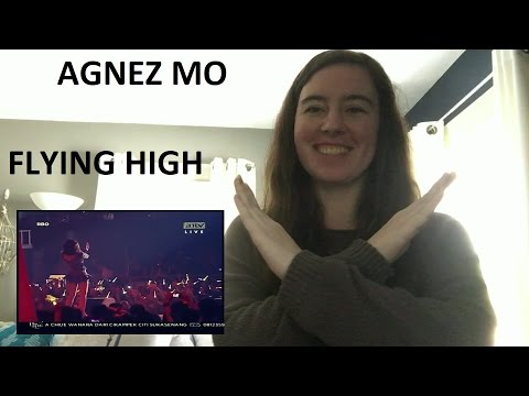 Agnez Mo [Chloe X] Flying High ANTV Reaction
