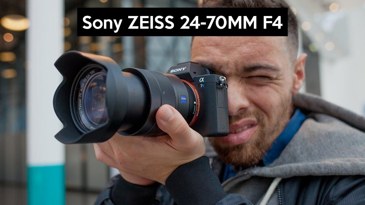 Sony Fe 24 70 F4 Oss Zeiss Alpha 7s Ii Vollformat 7 Mark 58 70mm Allrounder Objektiv