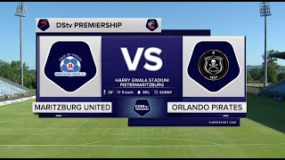 DStv Premiership | Maritzburg United v Orlando Pirates  | Highlights