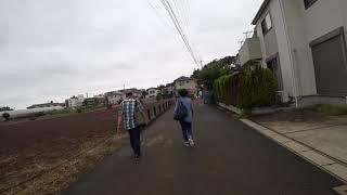お散歩動画 中山競馬場→京成東中山駅×3.0倍速 オケラ街道を行く
