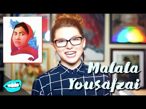 Drawing Malala Yousafzai // Rad Portraits with Beth Be Rad #15 | Snarled |
