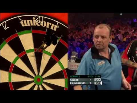 PDC European Darts Championship 2013 - Second Round - Taylor vs R Huybrechts