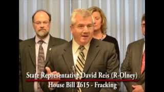Illinois State Representative David Reis Urges Speaker to call Fracking Bill