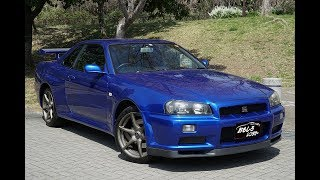 Gran Turismo 4-Nissan Motors Collection (Urban Street's Nissan SKYLINE GT-R V-spec Coupe-R34 99)