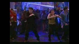 "Friends ""the routine"" Monica and Ross dance"