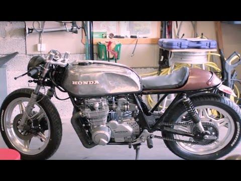 honda cb 650 1980 cafe racer part.12 finishing it up - youtube