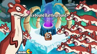 Plants vs Zombies 2: Frostbite Cave Part 2 Icebound Battleground Level 25!