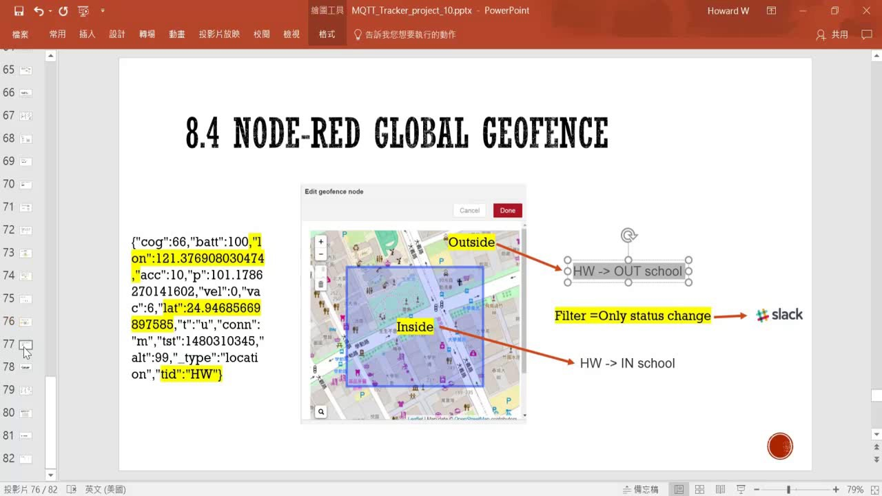 27 – 8 4 Global Geofence node on Node red / TRRAK – IOT MQTT GPS tracker  tutorial