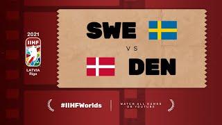 Highlights: DENMARK vs SWEDEN | 2021 #IIHFWorlds